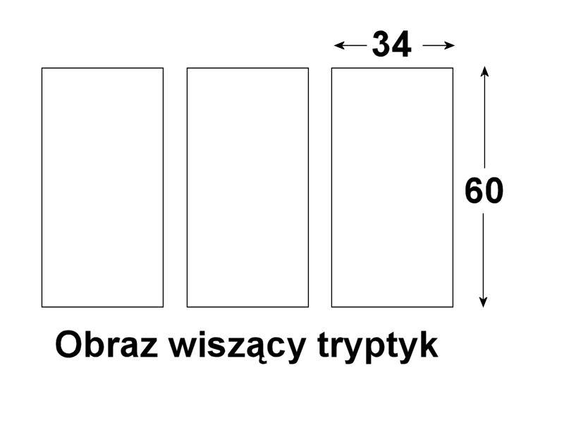 obraz wiszacy tryptyk